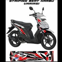 Striping Sticker Variasi Honda Beat Karbu 2008-2011 grafis