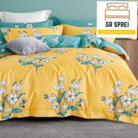 Sprei katun jepang original set bedcover ukuran 90x200 T30cm