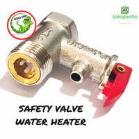 Safety valve / klep pengaman water heater Ariston modena dan lain lain