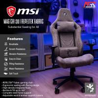 MSI MAG CH130I REPELTEK FABRIC (GRAY) GAMING CHAIR - KURSI GAMING