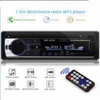 Tape Mobil Single Din Audio Bluetooth Mp3 FM USB Sdcard Remote 12V - JSD 520