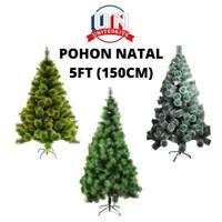 POHON NATAL UKURAN 5FT (150CM) CHRISTMAS TREE IMPORT / COD BATAM