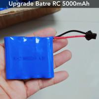 Upgrade Baterai Mobil Remote 4,8Volt 5000 Mah - 4,8v 5000mah