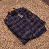 [New]kemeja flanel pria lengan panjang Brill eighty eight shirt 115