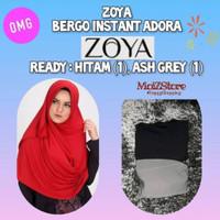 Zoya Bergo Instan Adora / Jilbab Instan Hijab Instant Bergo Kerudung
