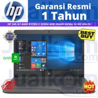 HP 245 G7 AMD RYZEN 3 3250U 4GB 256GB NVMe 14 HD W10