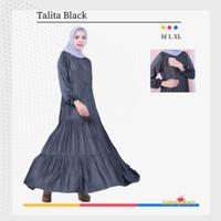 Dress Hamil Modern Baju Gamis Ibu Menyusui Hamil