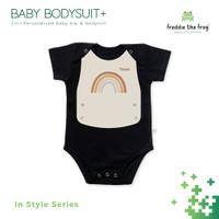 2in1 Bodysuit Bayi 100% Katun + Slabber   Freddie the Frog   In Style