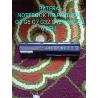 BATERAI LAPTOP HP PAVILION G4 G6 G7 G32 G42 G56 G62 6 CELL