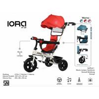 Sepeda Anak Roda Tiga Kanopi Baby Tricycle PMB IORA T-11