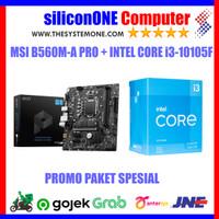 Paket MSI B560M-A PRO + Intel Core i3-10105F