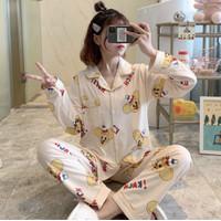Piyama Baju Tidur Wanita Import PP Fashion Lengan Celana Panjang 7520