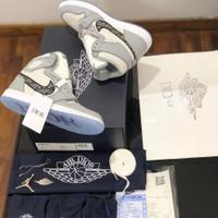 Sepatu Nike Jordan 1 Retro High Dior X PK ORI Store Guarantee ITALY