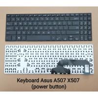 Keyboard Asus A507 A507LA A507UA A507UB A507UF A507MA - Black
