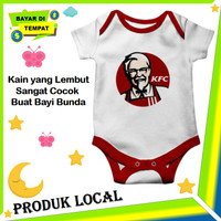 Jumper Bayi Cowok Lucu dan Unik Baju Baby Laki laki Karakter Kfc Keren