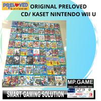 Original Preloved - CD/Kaset NIntendo WiiU Jepang