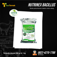 Media pertumbuhan bakteri untuk udang Nutrinex Bacillus 1 Kg