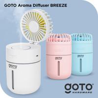 Goto Breeze Diffuser Aroma Terapi Essential Oil Fan Air Humidifier