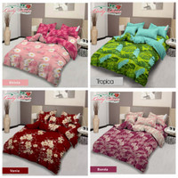Bed Cover Set Lady Rose | King Size 180x200