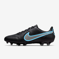 Sepatu Bola Nike Tiempo Legend 9 Academy FG - Black Grey DA1174-004