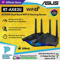 ASUS RT-AX82U AX82 WiFi 6 Dual Band Wi-Fi AX5400 Gaming Router