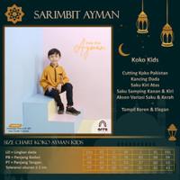 Baju Couple Pesta AYMAN Pasangan Keluarga Muslim Suami Istri Anak - Koko Kids, XS