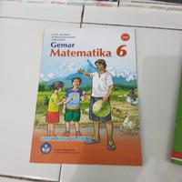 Buku matematika kls 6 sd/mi bse