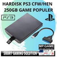Hardisk Playstation 3 / PS3 250gb Game Populer + Kabel Sata Usb 3.0
