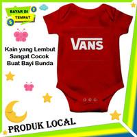 Baju Bayi Cowok Karakter Vans Keren Jumper Baby Laki Unik Jumpsuit