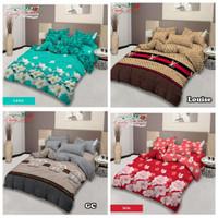 Bed Cover Set 180x200 Lady Rose | Motif mix | Halus Lembut