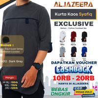 Baju Koko Muslim Pria Pakistan Jumbo Kaos Kurta Pria Premium Size XXXL