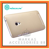 ASUS ZENFONE 4S A450CG CASE NILLKIN FROSTED SHIELD ORIGINAL HARD COVER - GOLD