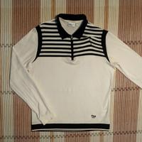 Polo Shirt FILA GOLF ITALY Kaos Lengan Panjang Wanita Original Second
