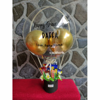 box balon bouquet bucket balon bloom box buket