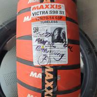 maxxis victra 120/70-14+Tubeless