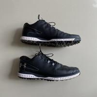Sepatu golf Under armour fade rst 2 black original not ecco footjoy