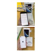 IPHONE SE 2020 ( SE 2ND GEN) 64GB BLACK RESMI IBOX