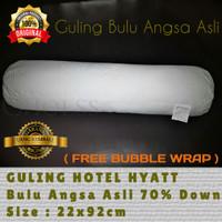 Guling Hotel HYATT ( Garansi Bulu Angsa Asli ) uk 22x92cm