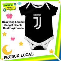 Jumper Bayi Cowok Baju Jumpsuit Baby Laki Club Bola Juventus Keren