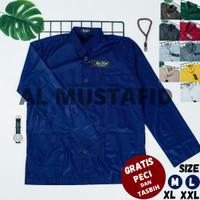 Baju Koko Pria Model AMMU Collection Merk AN Nur Dewasa Original