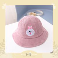 Line Bucket Hat / Topi Lucu Anak Line edition / Kids Bucket Hat - Cony