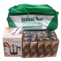 Paket 15 Botol 100ml Bonus Tas Herbal Thoyyiban + Mug Elektrik