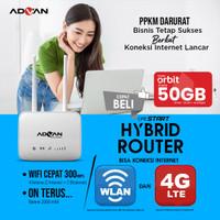 Telkomsel Orbit Advan Cpe Start Hybrid Router+WLan Unlock 4G Free 50gb