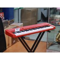 Casio CTS1 Keyboard 61 Key Red - CTS 1 / CT-S1 / CT S1 Garansi Resmi