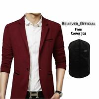 Jas Blazar Pria-Blazer pria-Jas Blazer Pria Premium list Red Velvet