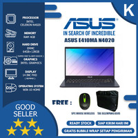 ASUS E410MA INTEL N4020 4GB 64GB 128GB WIN10HOME STAR BLACK - ORIGINAL