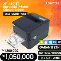 BARCODE PRINTER XPRINTER XP-4601B 420B - PRINTER BARCODE BLUETOOTH USB