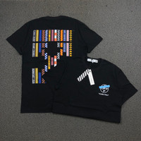 KAOS OFF WHITE YOURS TRULLY BLACK FULL TAG LABEL