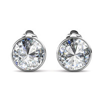 Circlet Clip Earring - Anting Crystal Luvea by Her Jewellery