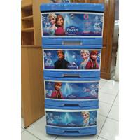 Dijual Lemari Frozen Plastik Napolly Susun 4 Asli Diskon